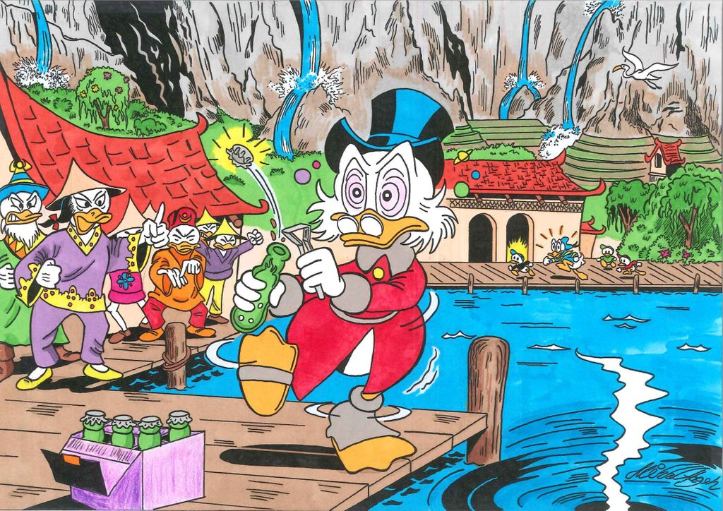 uncle_scrooge_in_tralla_la_by_mikkellll_d839nf3-fullview